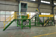 SUS 304 PET Plastic Washing Recycling Machine , Plastic Recycling Crusher With SKD 11 Knife