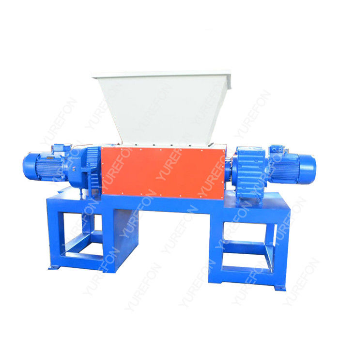 Widely used, different material process, Waste Wood Pallet, Metal, Carboard Paper, Bucket Plastic Double Shaft Shredder